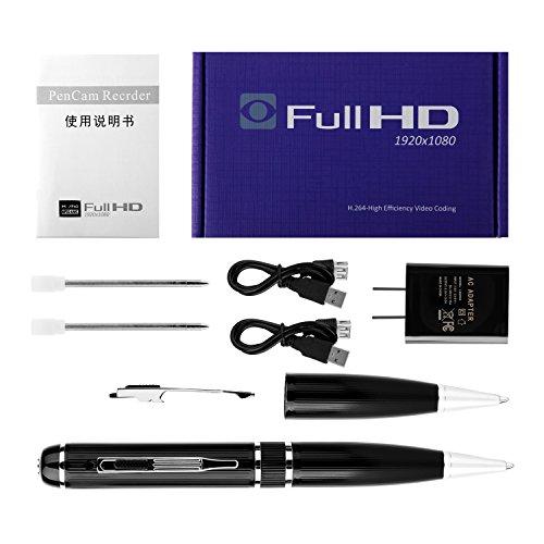 Hidden camera with 32GB GSmade Full HD 1080P Spy Pen Camera