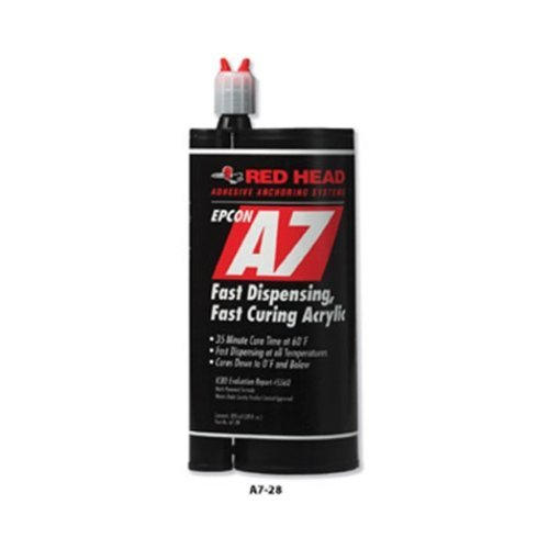 ITW Ramset Red Head A7-28 Epcon A7 28 Fl Oz Cartridge by ITW Ramset Red Head ()