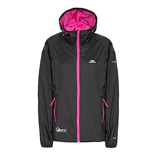 Femme Jacket Coupe Trespass Pluie Mousse Qikpac Female Vestes fxwPYF