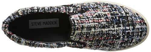 Steve Madden Kvinners Ecentrcf Slip-on Mote Sneaker Rosa / Multi