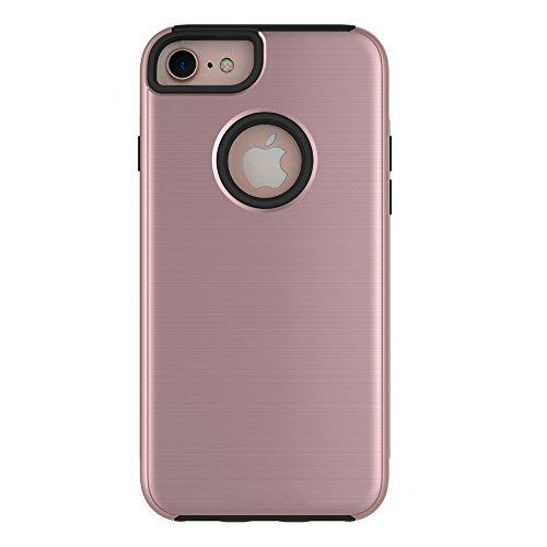 Meimeiwu Hohe Qualität TPU Bumper Case Kratzfeste Schlanke Handyhülle für iPhone 6 6S - Rose Gold