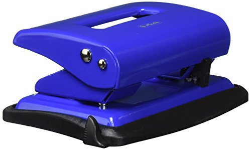 Herlitz 1610559 Bürolocher 2,0 blau mit Anschlagschiene