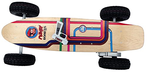Munkyboards SK-1200BL 1200W Remote Controlled Electric Skateboard with Lithium Ion Battery