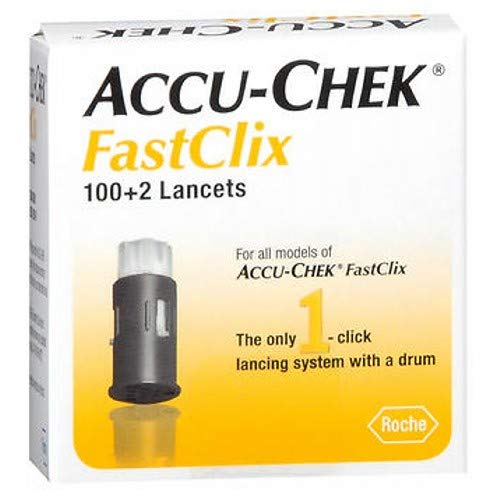 ACCU-CHEK FastClix Lancets 102 Each (Pack of 3) by Accu Chek