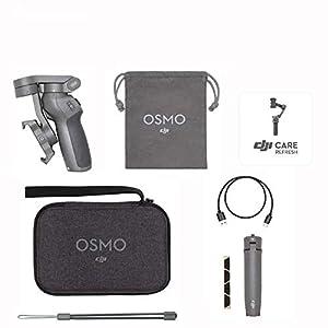 DJI Osmo Mobile 3 Prime Combo - Kit Stabilizzatore Gimbal a 3 Assi con Care Refresh, Compatibile con iPhone e Android Smartphone, Design Portatile, Scatto Stabile, Controllo Intelligente con Treppiede 5 spesavip
