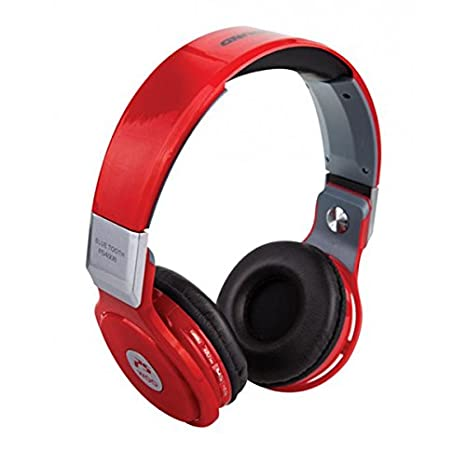 WOO 310383 - Auriculares con reproductor MP3, Bluetooth, color rojo: Woo: Amazon.es: Electrónica