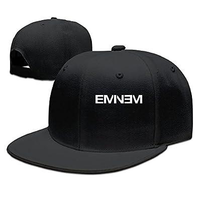 POPYol Men's Eminem Rap Style Flat Baseball Caps