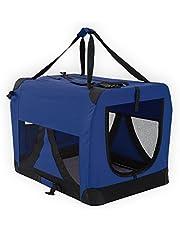 Paw Mate Soft Dog Crate L - Blue