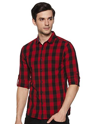 Amazon Brand – Symbol Men Casual Shirt