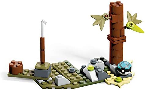 Mega Construx GCN19 - Pokemon Sichlor Bauset mit 188 Bausteinen, Spielzeug ab 6 Jahren