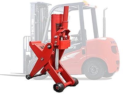 "5 Ton Hydraulic Forklift Jack Fork Tractor Scissor Lift Jack 11000lbs 28""H"