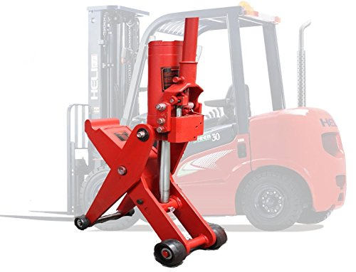 5 Ton Hydraulic Forklift Jack Fork Tractor Scissor Lift Jack 11000lbs 28