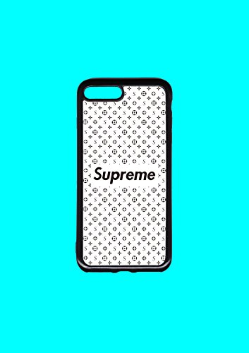 Pattern White Case (PATTERN WHITE FLEXIBLE SUPREME BUMPER PHONE CASE IPHONE 7/8 PLUS)
