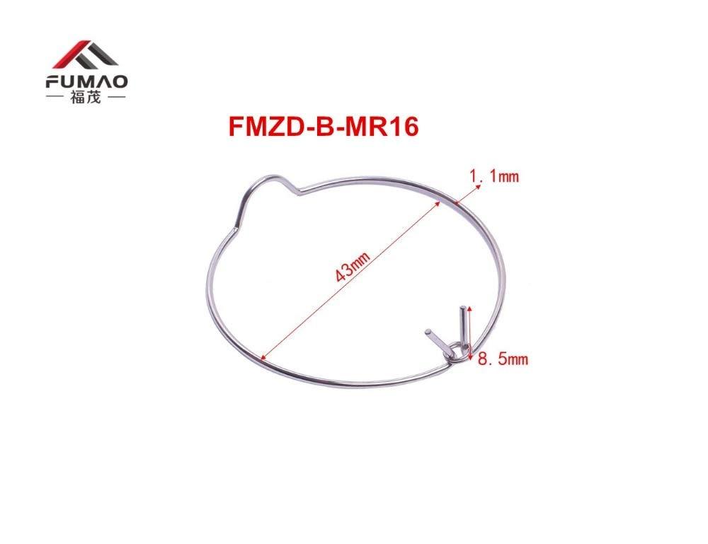 Jienie Manufacture Custom Back side clips MR16 COB downlight retaining spring clip 50mm - (Length: FMZD-F-MR16)