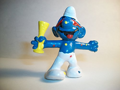 (Smurf New Year's Party PVC Figure)