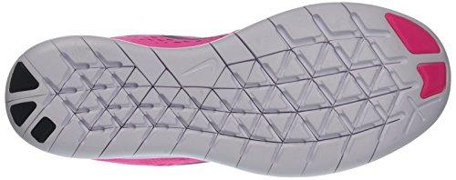 Nike Womens Free RN Running Shoes Pink Blast/Fire Pink/White/Black 5 B(M) US by Nike (Image #3)