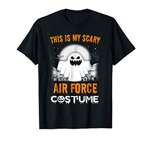 This Is My Scary Air Force Costume Halloween 2017 Shirt ()