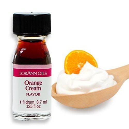 Orange Cream Flavor - 2 Dram Pack - LorAnn Oils - Includes a Recipe Card (Beer Root Sassafras)