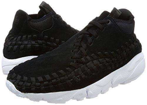 Noirs Air Hommes Woven blackblackwhite Chaussures De Nike Gymnastique Chukka Pour 1xH8RAwq6