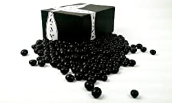 Cuckoo Luckoo Gourmet Dark Chocolate Espresso Beans, 1 lb Bag in a BlackTie Box from Black Tie Mercantile