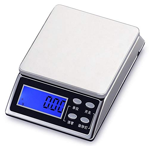 E-KIA Digital Kitchen Scales,Electronic Scale,Multifunction Food Weighing,LCD Displays &Tare ()