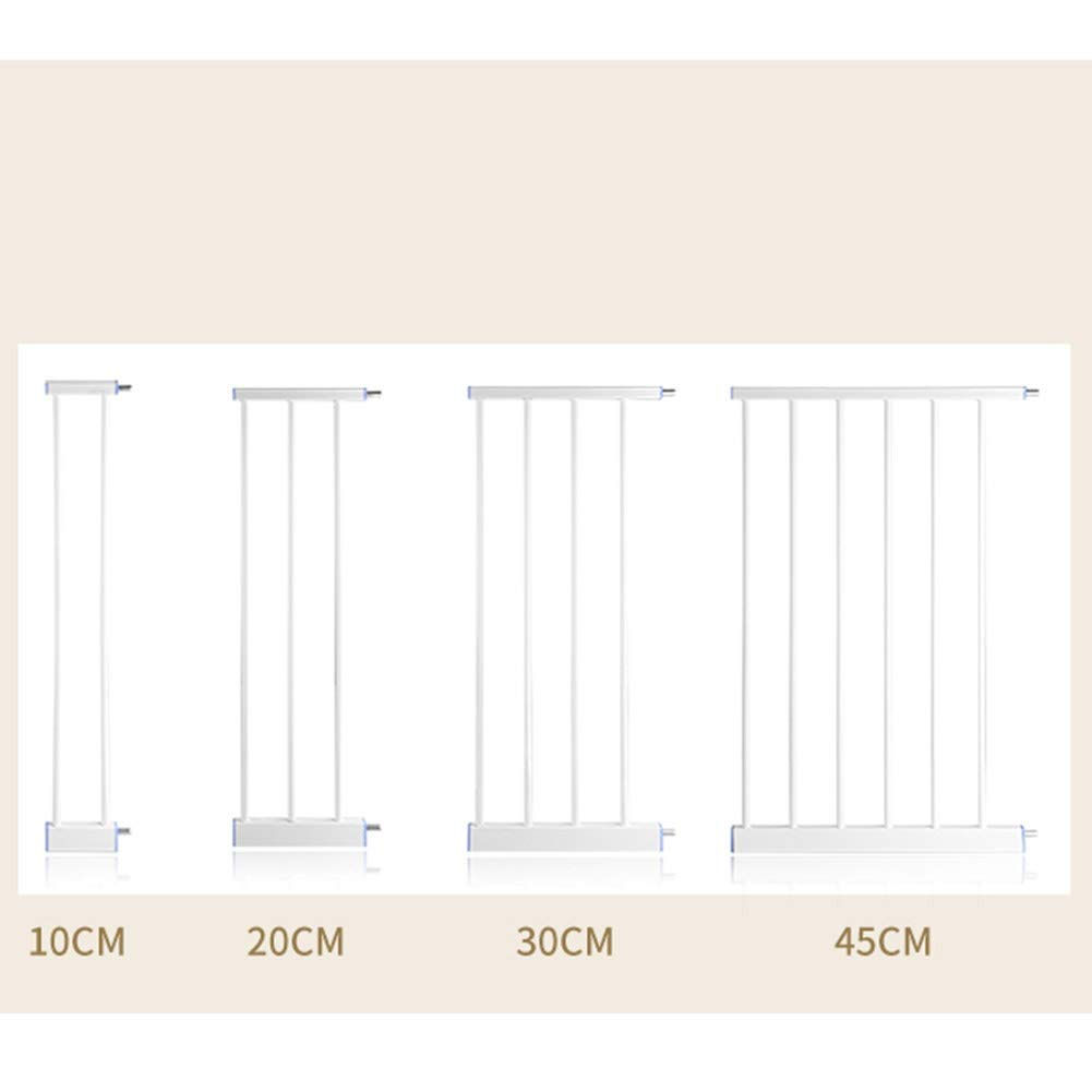 Size : 60-67cm Barrera De Seguridad para Escaleras RZBAO La Instalaci/ón Sin Agujeros De La Puerta De Aislamiento De La Cerca del Perro Mascota No Da/ña La Pared Canal Ancho De 57 Cm