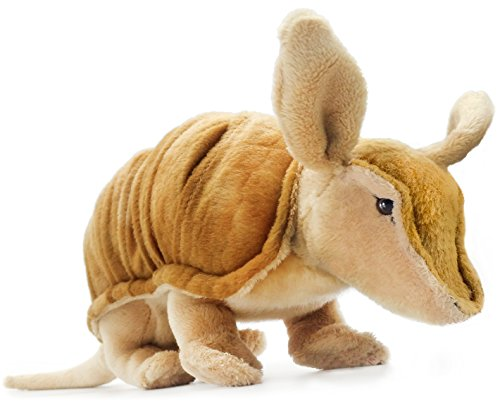 Mike the Armadillo | 10 Inch (Tail Measurement not Included!) Stuffed Animal Plush | By Tiger Tale Toys
