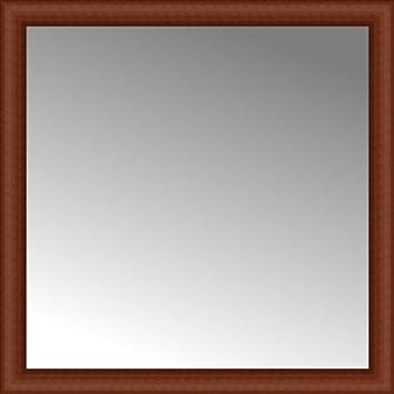 36 x 36 framed mirror double wide 36quot ansley cherry custom framed mirror amazoncom 36