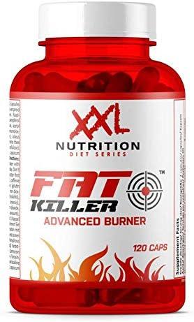 XXL Nutrition Fat Killer | Fatburner Abnehmen Fettverbrennung | 120 Kapseln
