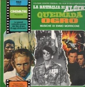 LA BATTAGLIA DI ALGERI QUEIMADA OGRO LP (VINYL) ITALIAN RCA 1982