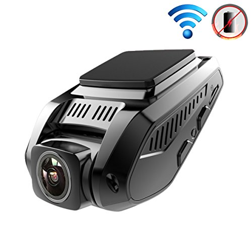 "SmarTure 3rd Gen L215-C Full HD 1080P Dashcam with Sony IMX323 Image Sensor | 170° Wide Angle | 2 Cameras | Super Capacitor Power | Built-in Wi-Fi | 2.4"" LCD"