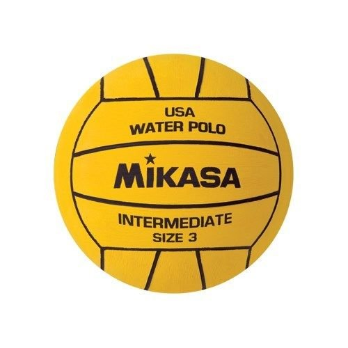 Mikasa Usa Water Polo Approved Ball; Youth Size 3 Intermediate-yellow