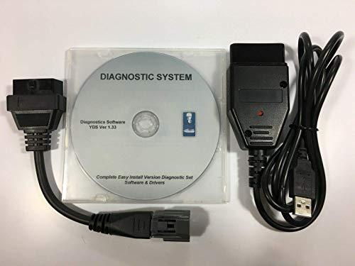 for Yamaha Boat Marine Diagnostic USB Cable Kit for Outboard/WaveRunner/Jet Boat (Property Manager Software)