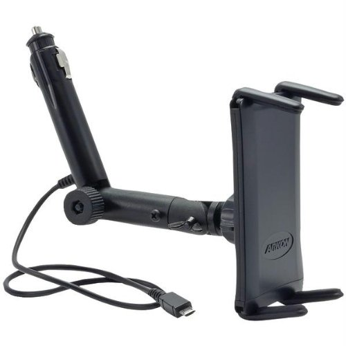 Arkon SM621-MICRO Lighter Socket Car Mount Holder with Micro USB Charging Cable for Samsung Galaxy S4, Note 3 ,Mega and compatible phones
