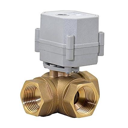amazon com: hsh-flo motorized valve 3 way cr5-02 ac110-230v 3/4
