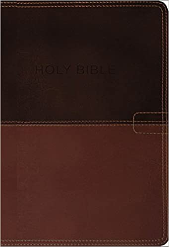 NKJV, Know The Word Study Bible, Leathersoft, Brown/Caramel
