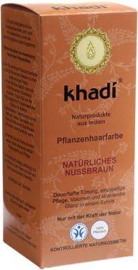 Tinte vegetal avellana Khadi