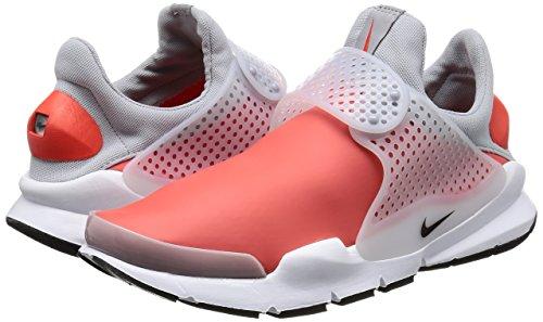 800 Bicolore Se De Bottes En Rouge Nike Dart 911404 Tissu Bas Sock Blanc Et BOnFpFW6