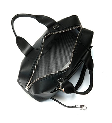 Alexander Wang Rogue bowler bag in black brushed leather and rhodium - more-bags