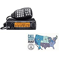 Bundle - 2 Items - Icom Mobile radio, 2m, 65W and Ham Guides TM Pocket Reference Card