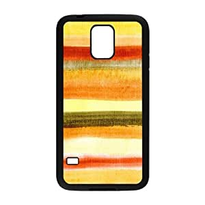 Samsung Galaxy S5 Case, Abstract Watercolor Hard Case For Samsung Galaxy S5(Black) Yearinspace059595