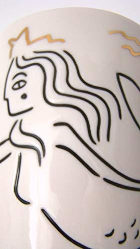 Siren at Sea Anniversary Collection White Ceramic Mug - 12 oz