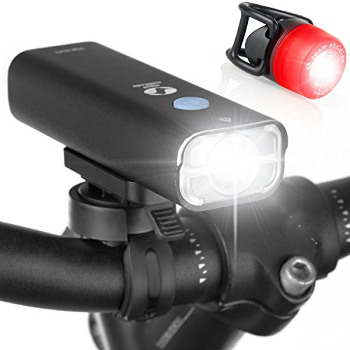 Lights Rechargeable Headlights Taillights Bicycle