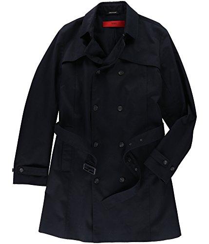 - Hugo Boss Mens Belted Raincoat Blue 44R