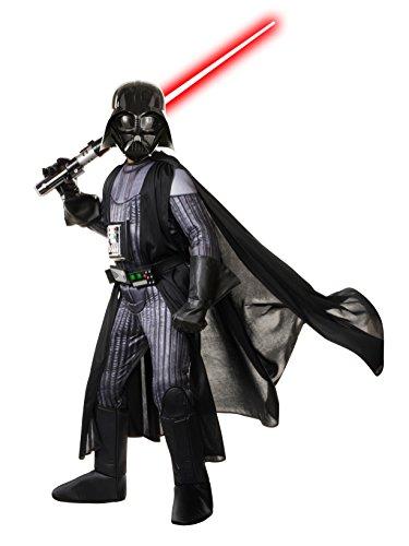 Star Wars Child's Deluxe Darth Vader Costume, Small