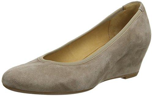 Gabor Fantasy - Zapatos de tacón, Mujer Beige (Beige Suede)