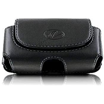 Premium Horizontal Leather Pouch Case with Belt Clip for Apple iPhone 4S 4-S
