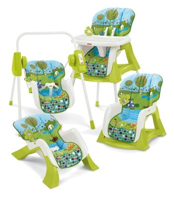 503535866 Fisher-Price Tronas - T3646 Sistema Silla 4 En 1: Amazon.es: Bebé
