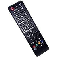 Replaced Remote Control Compatible for Samsung HTF4500/XU HT-J4500 HTHM55ZA HT-H4500R HTH5500WZA 3D Blu-Ray DVD Home Theater Sound System