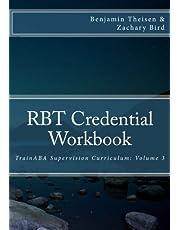 RBT Credential Workbook